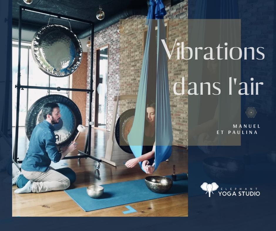 vibrations dans l'air